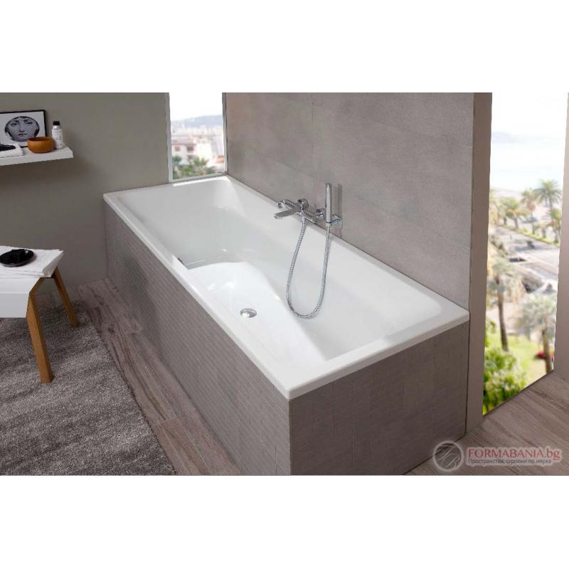 villeroy boch targa style 180 80. Black Bedroom Furniture Sets. Home Design Ideas