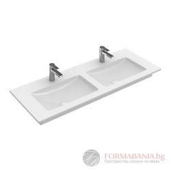 Villeroy & Boch Venticello - Двойна мивка за шкаф или свободен монтаж 1300*500мм