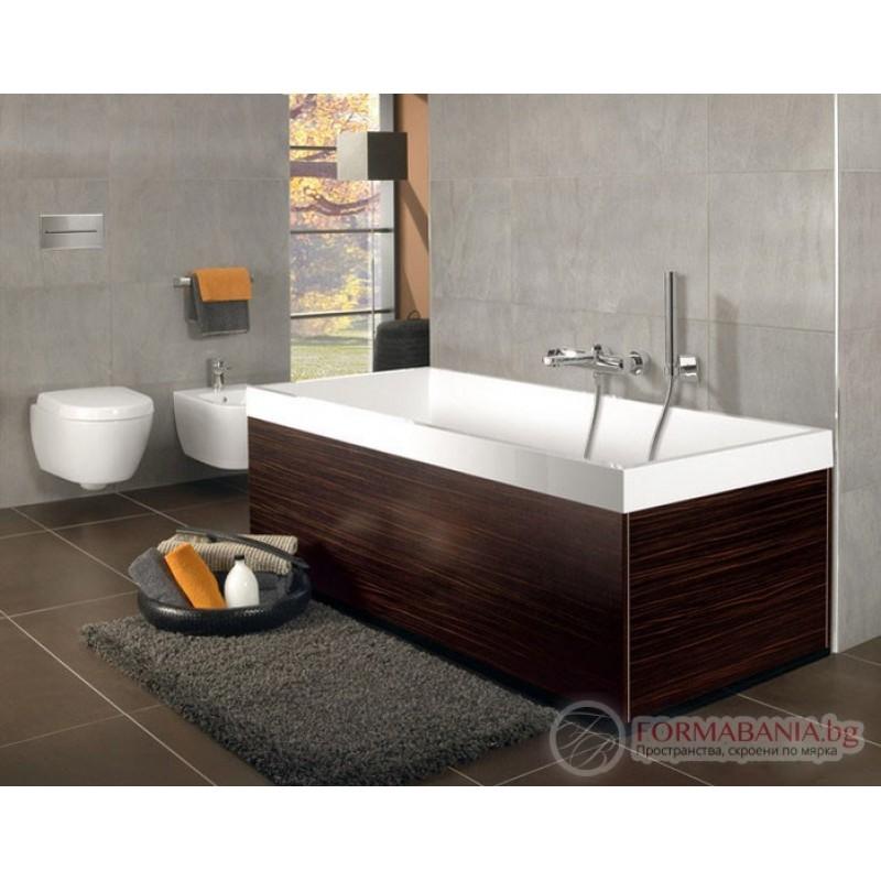 villeroy boch squaro edge 12 180 80 ubq180sqe2dv 01. Black Bedroom Furniture Sets. Home Design Ideas