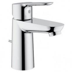 Grohe Bau Edge Смесител за мивка с изпразнител 23328000