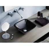 Черна мивка за баня Bathco Baviera Black 4050/NE