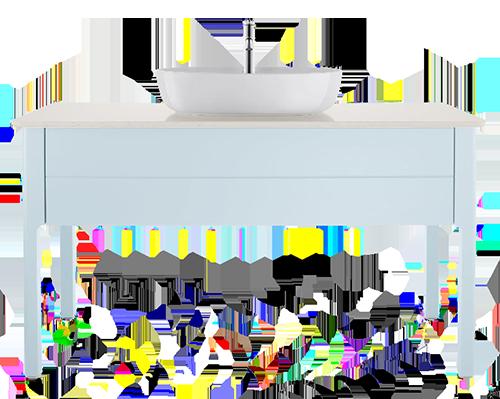 мебели за баня duravit luv