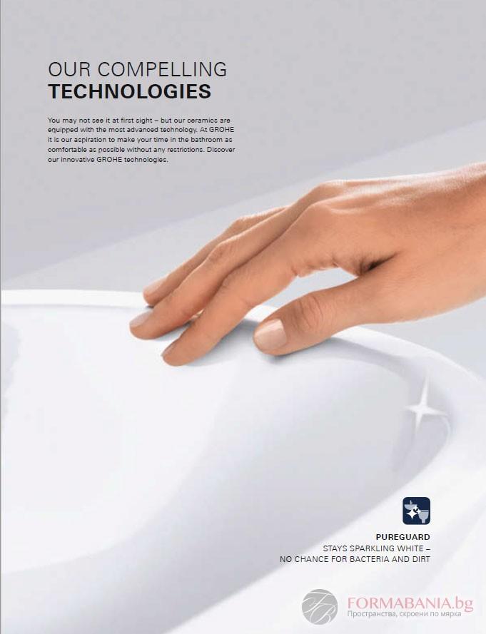покритие санитарен фаянс мивки и тоалетни
