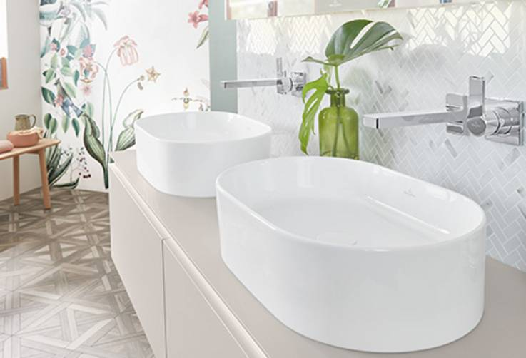 мивки за баня villeroy & boch collaro